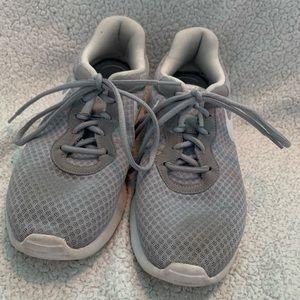 Gray Nike Tennis Shoes